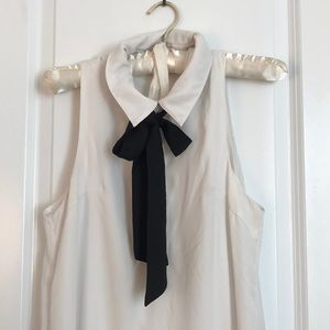 Black and white work-to-drinks dress